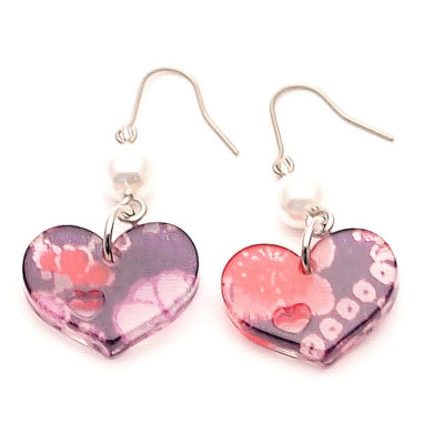 Boucles d'oreilles Petit coeur