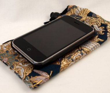 Sac Kinchaku Kinran pour smartphone