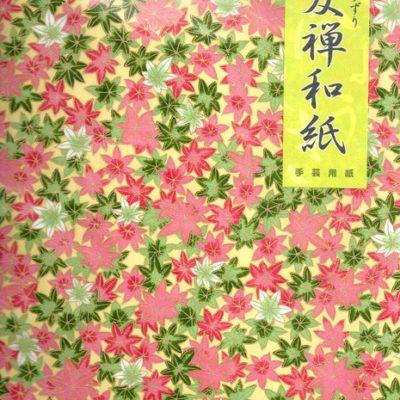 Papier japonais Washi Yûzen Grand format
