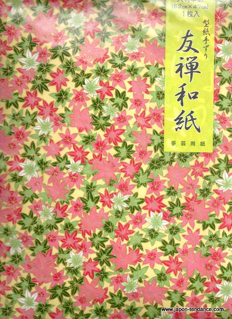 Papier japonais washi y zen grand format japon tendance - Pas japonais grand format ...