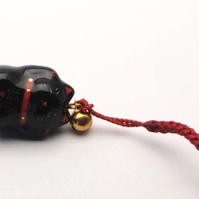 Maneki neko (accroche portable) Kuro